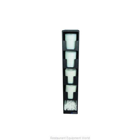 San Jamar L2204 Lid Dispenser, Countertop