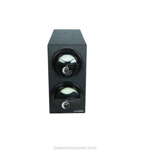 San Jamar L2912BK Lid Dispenser, Countertop