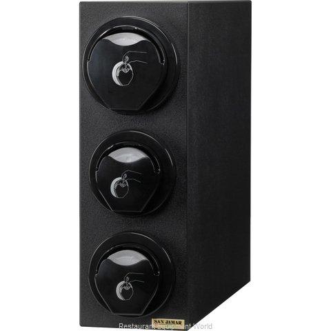 San Jamar L2913 Lid Dispenser, Countertop