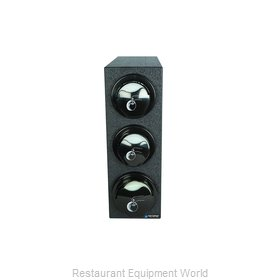 San Jamar L2913BK Lid Dispenser, Countertop