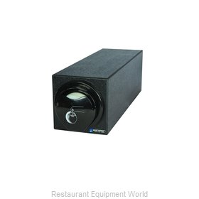San Jamar L2920BK Lid Dispenser, Countertop