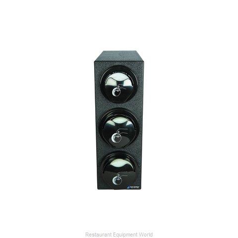 San Jamar L2923BK Lid Dispenser, Countertop