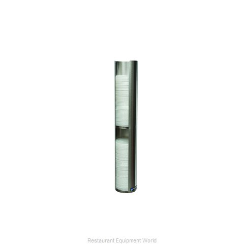 San Jamar L3402 Lid Dispenser, Wall Mount