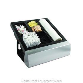 San Jamar MODL2900KIT Bar Condiment Server, Countertop