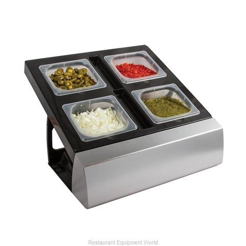San Jamar MODMP16KIT Bar Condiment Server, Countertop