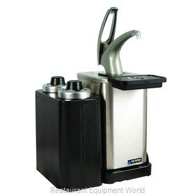 San Jamar MODP4900CC Condiment Dispenser, Pump-Style