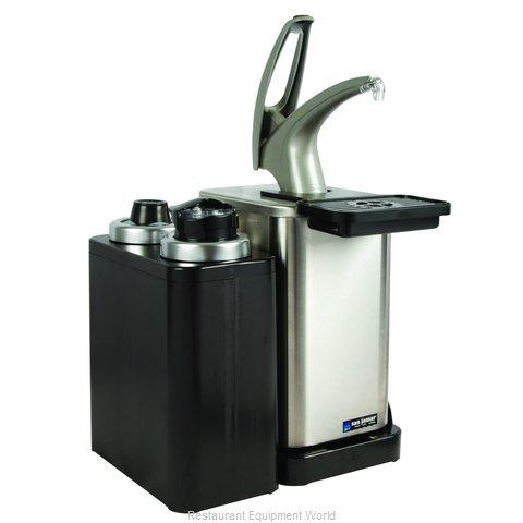 San Jamar MODP4900CL Condiment Dispenser, Pump-Style