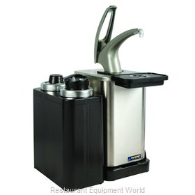 San Jamar MODP4900CL Condiment Dispenser, Pump-Style