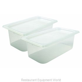 San Jamar MP13RD Food Pan, Plastic