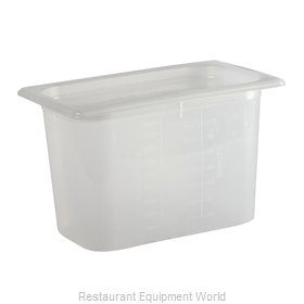 San Jamar MP14 Food Pan, Plastic