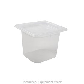 San Jamar MP16RD Food Pan, Plastic
