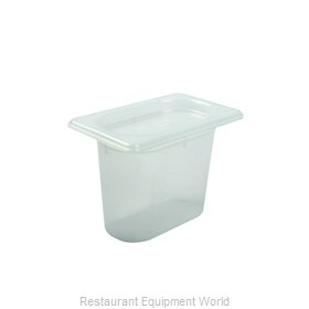 San Jamar MP19 Food Pan, Plastic