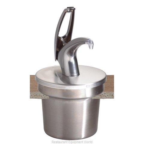 San Jamar P4710 Condiment Dispenser, Pump-Style