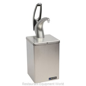 San Jamar P4800 Condiment Dispenser, Pump-Style
