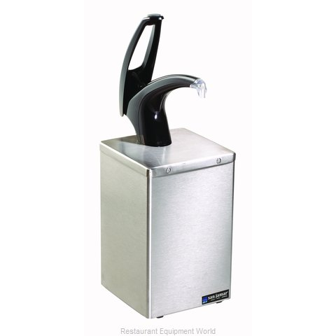 San Jamar P4800BK Condiment Dispenser Pump-Style