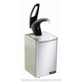 San Jamar P4800BK Condiment Dispenser, Pump-Style