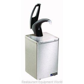 San Jamar P4800BK Condiment Dispenser, Pump-Style