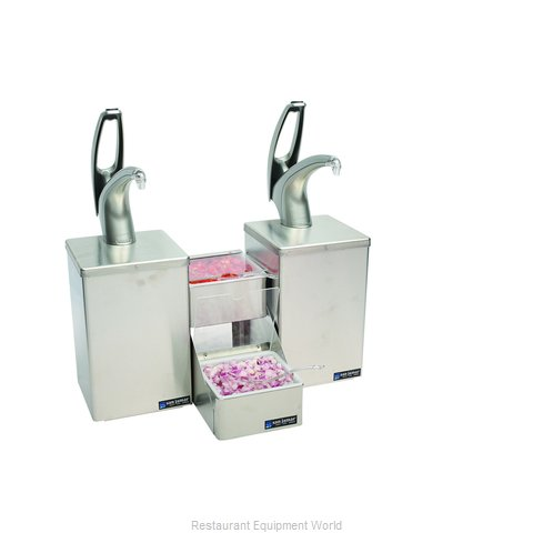 San Jamar P4826 Condiment Dispenser, Pump-Style