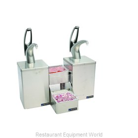 San Jamar P4826 Condiment Dispenser, Pump-Style