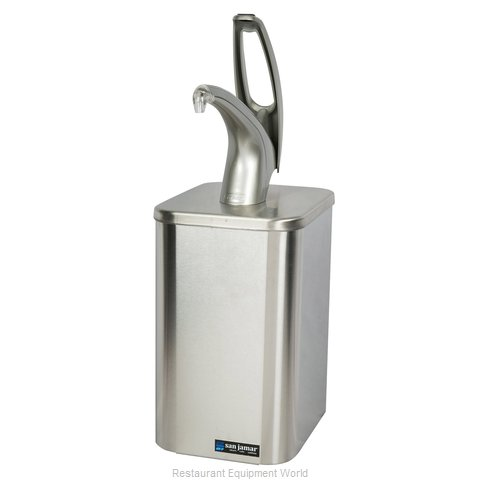 San Jamar P4900 Condiment Dispenser, Pump-Style