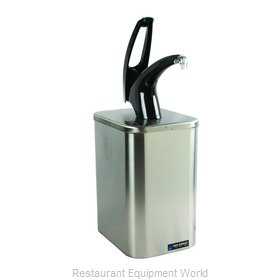 San Jamar P4900BK Condiment Dispenser, Pump-Style