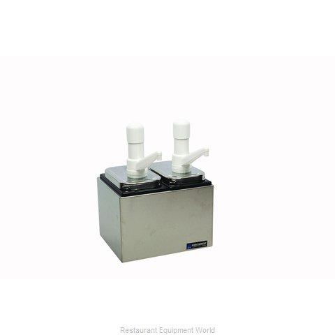 San Jamar P9712 Condiment Dispenser, Pump-Style