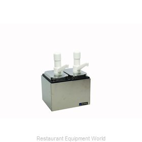San Jamar P9712 Condiment Dispenser, Pump-Style