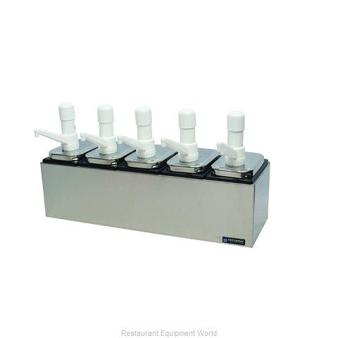 San Jamar P9715 Condiment Dispenser, Pump-Style