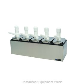 San Jamar P9715 Condiment Dispenser, Pump-Style