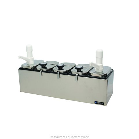 San Jamar P9723 Topping Dispenser, Ambient
