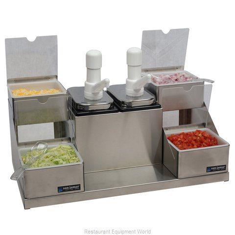 San Jamar P9724 Condiment Dispenser Pump-Style