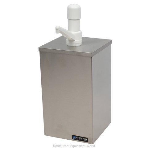 San Jamar P9810 Condiment Dispenser, Pump-Style