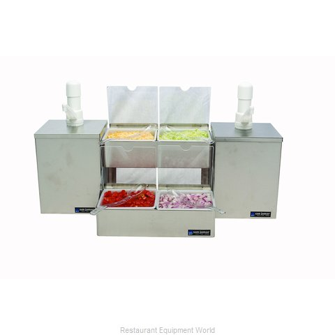 San Jamar P9825 Condiment Dispenser, Pump-Style