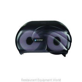 San Jamar R3690TBK Toilet Tissue Dispenser