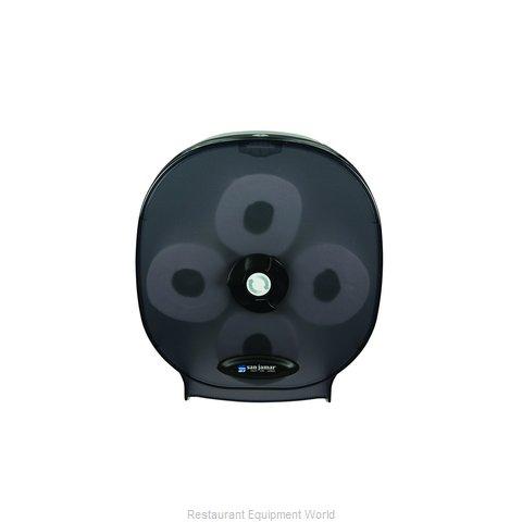 San Jamar R3800TBK Toilet Tissue Dispenser