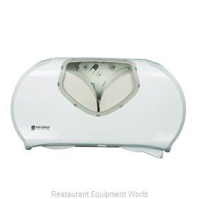 San Jamar R4070WHCL Toilet Tissue Dispenser