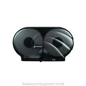 San Jamar R4090TBK Toilet Tissue Dispenser