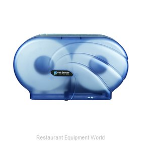 San Jamar R4090TBL Toilet Tissue Dispenser