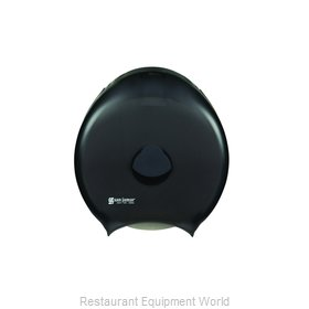 San Jamar R6000TBK Toilet Tissue Dispenser