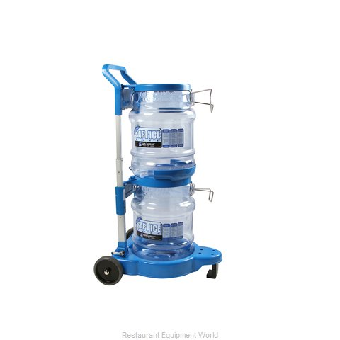 San Jamar SICART61 Dolly / Cart, Basket Transport Trolley