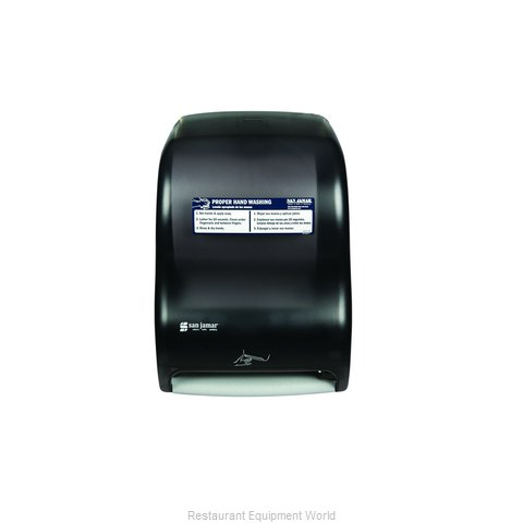 San Jamar T1400TBKHW Dispenser Paper Towel (Magnified)
