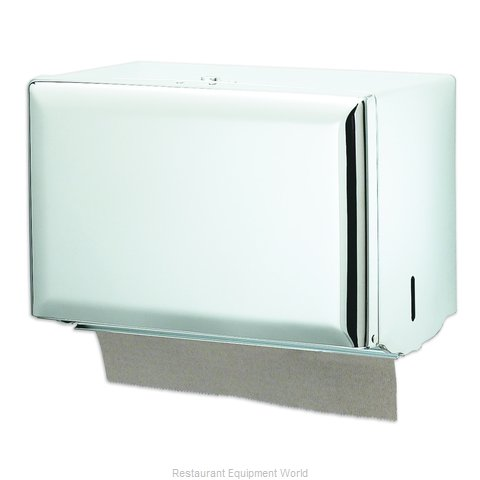 San Jamar T1800WH Paper Towel Dispenser (Magnified)
