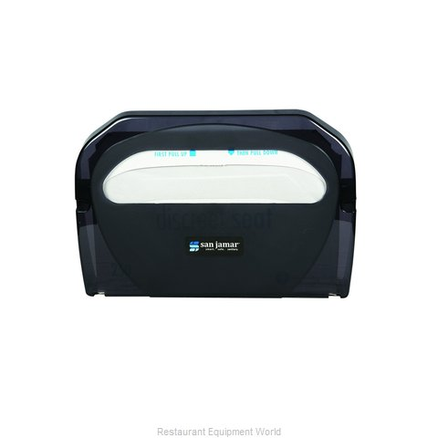 San Jamar TS510TBK Toilet Seat Cover Dispenser