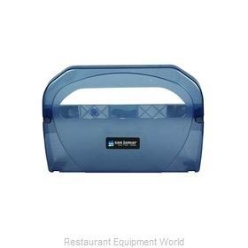 San Jamar TS510TBL Toilet Seat Cover Dispenser