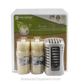 San Jamar WP1202TW Air Freshener Dispenser
