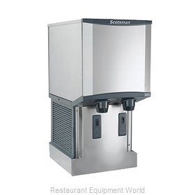 Scotsman HID312AW-1 Ice Maker Dispenser, Nugget-Style
