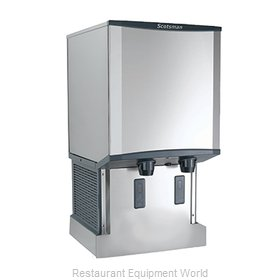 Scotsman HID540AW-1 Ice Maker Dispenser, Nugget-Style