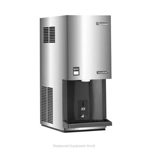 Scotsman MDT4F12A-1 TouchFree Air-Cooled Flake Ice Maker and Dispenser