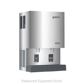 Scotsman MDT5N25A-1 TouchFree Air-Cooled Flake Ice Maker and Dispenser