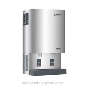 Scotsman MDT5N40A-1 TouchFree Air-Cooled Flake Ice Maker and Dispenser